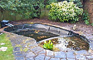 rebuild pond oxfordshire 1