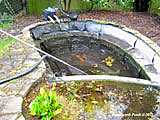 rebuild pond oxfordshire 2
